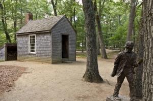 Kopia av Thoreaus hus